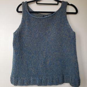 Eileen Fischer Sleeveless Sweater Knit Top